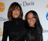 Bobbi Kristina Brown et sa maman Whitney Houston, à Los Angeles, en juillet 2012.