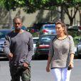 Kim Kardashian et son chéri Kanye West en vacances à Hawaï le 11 août 2012
