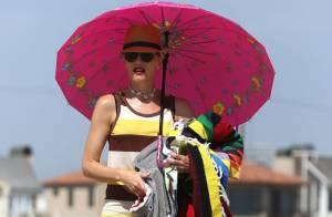 Gwen Stefani : Détente à la plage avec ses fils, le plaisir ultime !