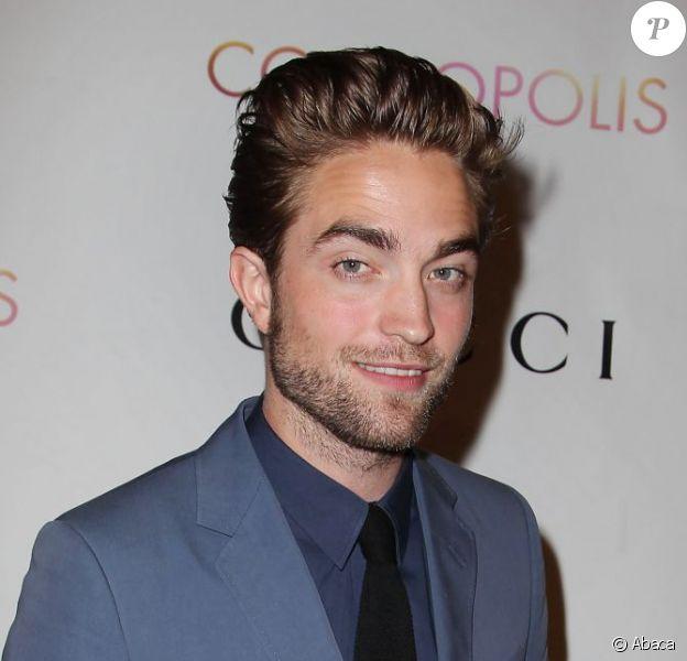 Robert Pattinson à l'avant-première du film Cosmopolis à New York, le 13 août 2012. C'est sa première apparition publique depuis le scandale de Kristen Stewart.