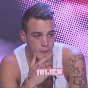 Secret Story 6 : Flots de larmes pour Julien, bouleversé par le départ de Fanny
