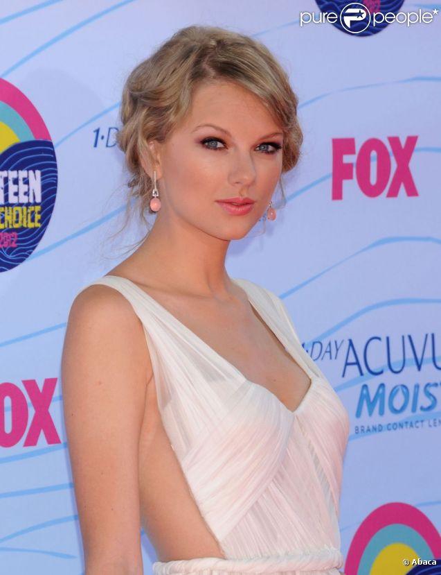 Taylor Swift à Los Angeles, le 22 juillet 2012.