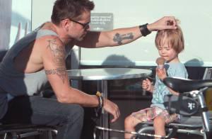 Colin Farrell en tête à tête avec son fils : Un joli moment de tendresse
