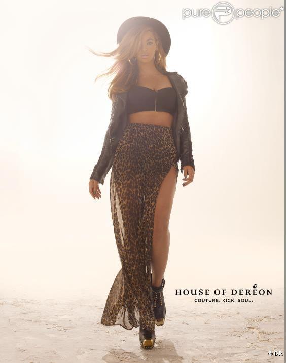Beyoncé Knowles pose pour la campagne automne 2012 de House Of Deréon.