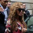 Beyoncé quitte l'hôtel  Le Meurice  à Paris, le 4 juin 2012.