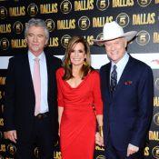 Dallas: Larry Hagman, la sublime Linda Gray et Jesse Metcalfe enflamment Londres