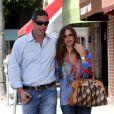 Sofia Vergara et Nick Loeb à Beverly Hills, le 21 août 2012.