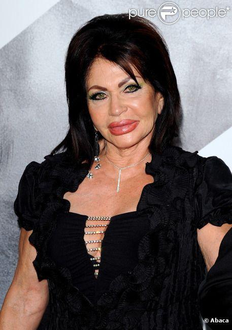 Ivone Weldon, prise à tort pour la mère de Sylvester Stallone, Jackie, lors de l'avant-première du film Expendables 2 à Los Angeles le 15 août 2012