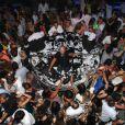 Grosse ambiance au VIP Room de Saint-Tropez, le dimanche 26 août 2012.