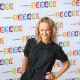 Caroline Roux lors de la conférence de rentrée de France Télévisions le 28 août 2012 à Paris