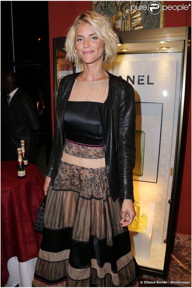 Alice Taglioni lors du dîner d'ouverture du festival de Deauville 2012.