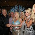 Massimo Gargia fête ses 72 ans au VIP Room de St-Tropez avec tous ses amis, le samedi 1er septembre 2012.