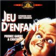 La jaquette du DVD de Jeu d'enfant, premier volet de la saga Chucky