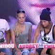 Midou, Audrey et Emilie dans la quotidienne de Secret Story 6 le vendredi 7 septembre 2012 sur TF1