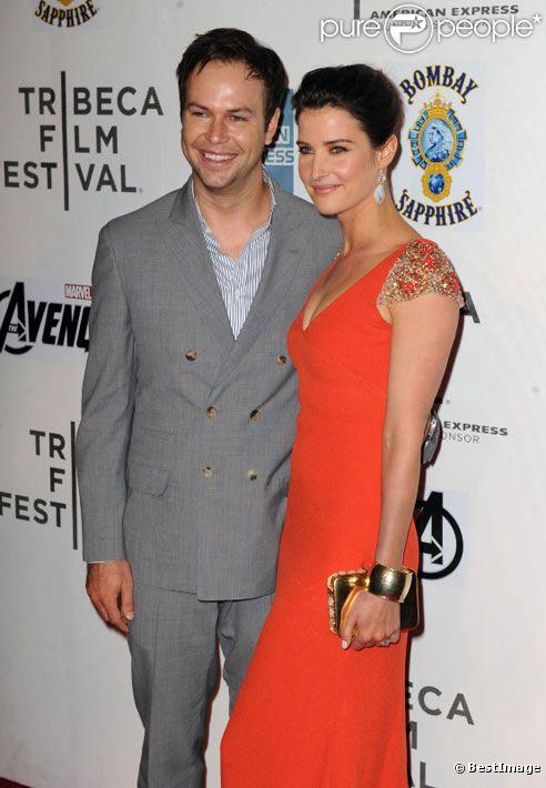Cobie Smulders et Taran Killam à la première de The Avengers à New York en avril 2012