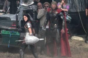 Thor 2 : Chris Hemsworth se bat avec une belle brune, où est Natalie Portman ?