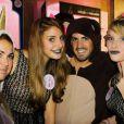 Les French-Lips Girls lors de l'inauguration de la boutique Adopte un mec, le 11 septembre 2012, à Paris.