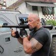 Dwayne Johnson dans  Fast & Furious 5  (2011).