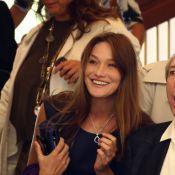 Carla Bruni-Sarkozy : Première télé avec Charles Aznavour pour son grand retour