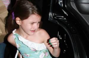 Katie Holmes : Sa fille Suri, en larmes, lui fait une scène