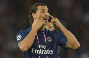 Zlatan Ibrahimovic étincelant pour le retour du PSG en Ligue des champions