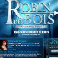 Stéphanie Bédard, révélée en France par le télé-crochet de TF1  The Voice , sera Marianne dans la production musicale Robin des Bois attendue en septembre 2013.
