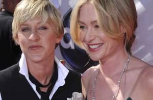PHOTOS : Ellen DeGeneres offre une bague de fiançailles à Portia