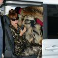 Lady Gaga arrive au Bourget le 24 septembre 2012