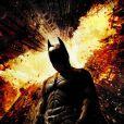L'affiche du film  The Dark Knight Rises , sorti le 25 juillet 2012.