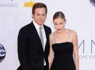 Michael C. Hall : Dexter présente sa nouvelle chérie, superbe et tatouée