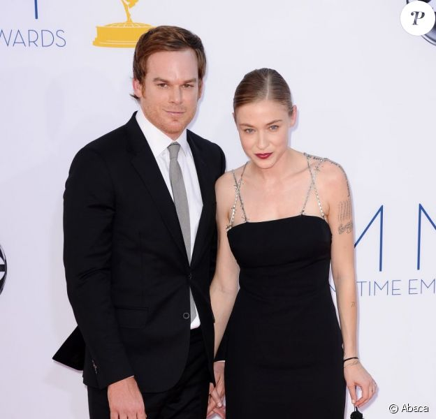 Michael C. Hall et sa chérie Morgan Macgregor le 23 septembre à Los Angeles