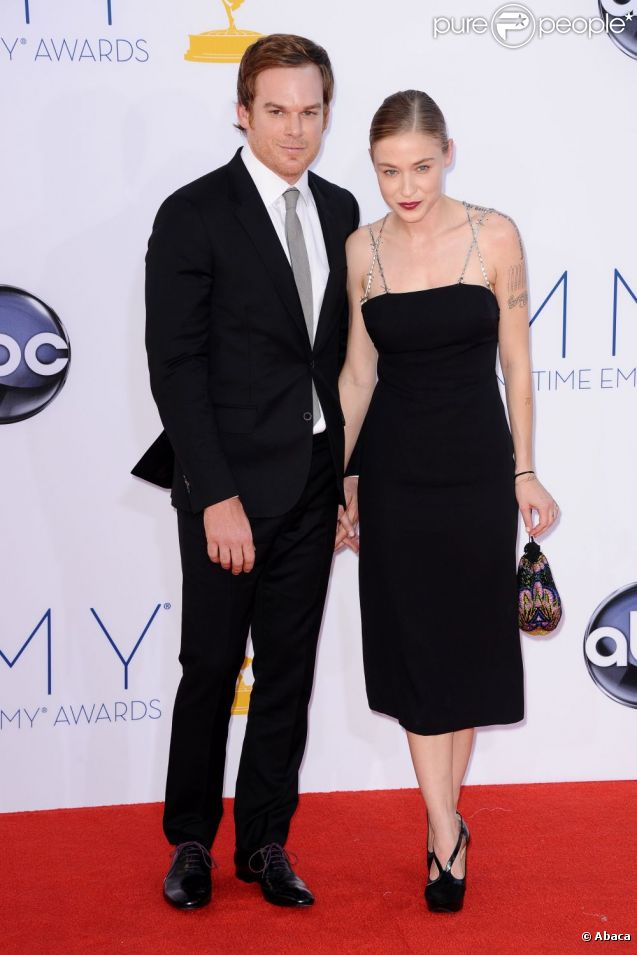 Michael C. Hall et sa chérie Morgan Macgregor le 23 septembre à Los Angeles