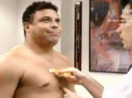 Ronaldo, obèse, s'attaque à ses kilos en trop dans une émission de télé-réalité