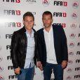 Kevin Gameiro et Sylvain Armand étaient titulaires lors de la soirée de lancement FIFA 13, le 25 septembre 2012 à l'Olympia de Paris.