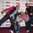 Les Kaïra lors de la soirée de lancement FIFA 13, le 25 septembre 2012 à l'Olympia de Paris.