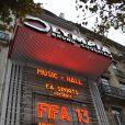 Soirée de lancement FIFA 13, le 25 septembre 2012 à l'Olympia de Paris.