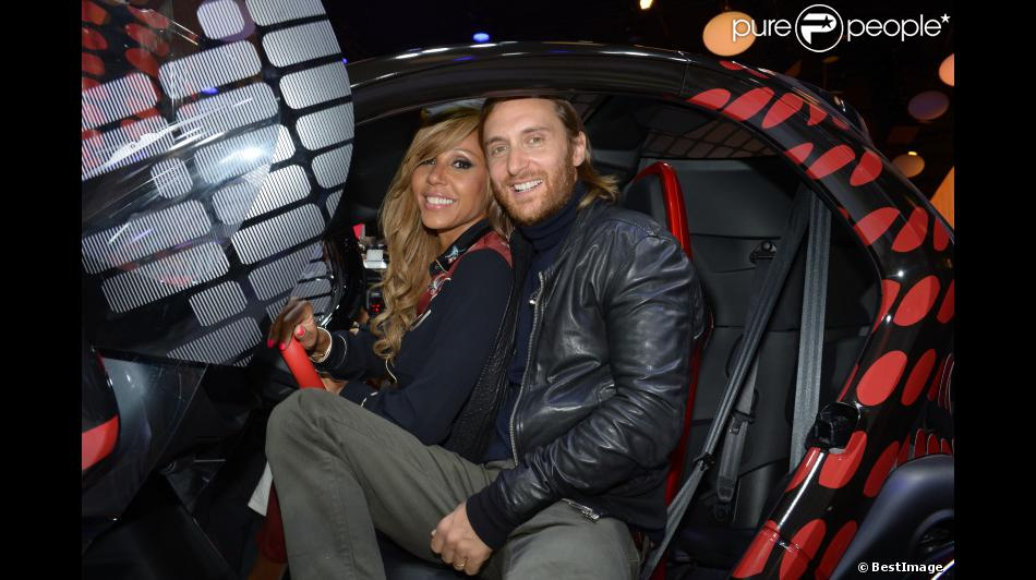david et cathy guetta au mondial de l 39 auto 2012 paris le jeudi 27 septembre 2012 pour. Black Bedroom Furniture Sets. Home Design Ideas