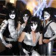 Les sosies du groupe Kiss lors du défilé prêt-à-porter printemps-été 2013 de Jean-Paul Gaultier. Paris, le 29 septembre 2012.