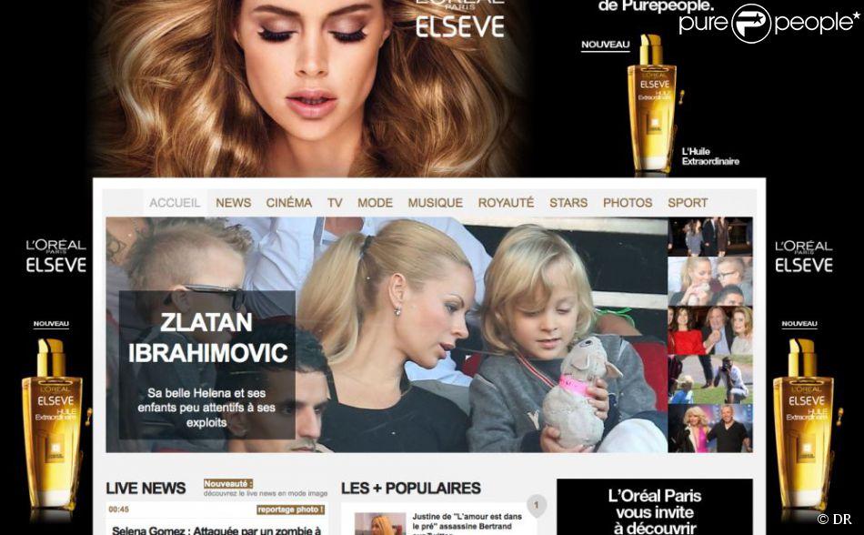 Le 2 octobre 2012, Purepeople.com a fait peau neuve, avec une nouvelle version du site proposant des innovations uniques au monde, dont une possibilité de navigation par l'image.