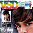 Alain-Fabien Delon en couverture de  VSD , 2 août 2012.