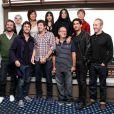 Le jury du Festival du Film Britannique de Dinard, le 6 octobre 2012.
