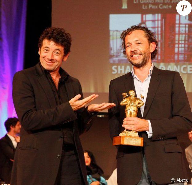 Patrick Bruel au Festival du Film Britannique de Dinard, le 6 octobre 2012.