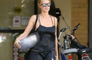 Heidi Klum : Maman sexy même pour emmener ses enfants à la gym