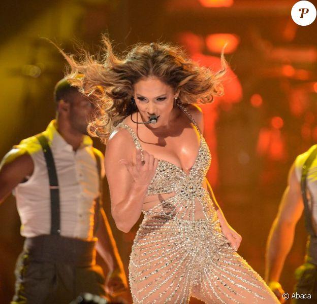 Jennifer Lopez très hot en concert à Madrid, le 7 octobre 2012.