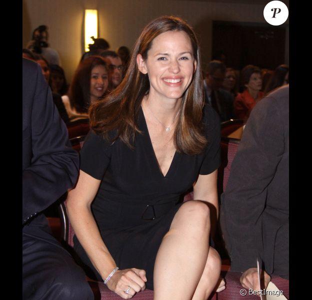 La belle Jennifer Garner à Washington pour défendre l'association ''Save the Children'', le 10 octobre 2012