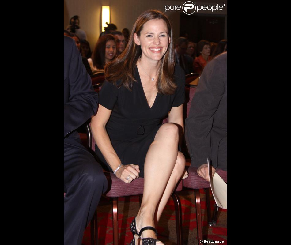 La belle Jennifer Garner à Washington pour défendre l'association ''Save the Children'', le 10 octobre 2012
