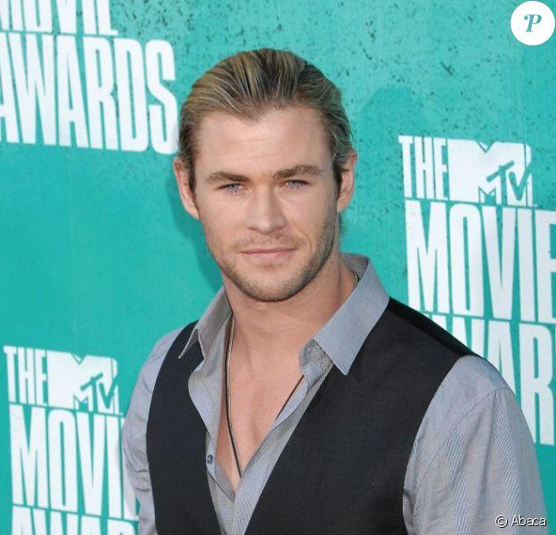 Chris Hemsworth le 3 juin 2012
