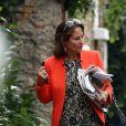 Ségolène Royal a donc lu les livres consacrés à sa rivale et ses relations avec François Hollande. Ici à Paris le 5 septembre 2012.