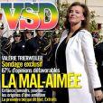 Valérie Trierweiler, la mal-aimée en couverture de  VSD , en kisoques le 4 octobre 2012.