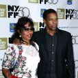 Pauletta Washington et Denzel Washington à la soirée de clôture du 50ème Festival du film de New York, à New York le 14 octobre 2012.